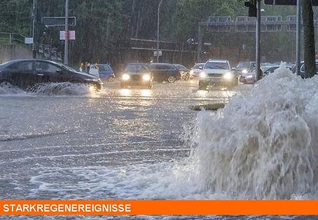 Starkregen Hochwasser