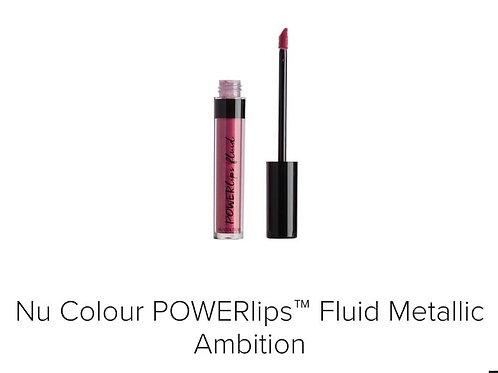 powerlips fluid metallic ambition