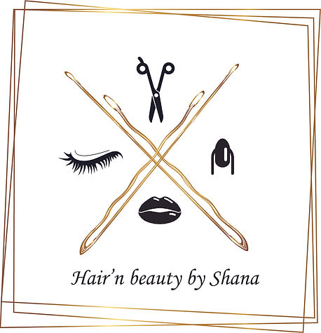 Logo hairnbeautybyshana.be