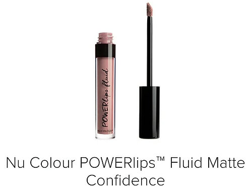 powerlips fluid matte confidence