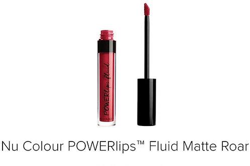 powerlips fluid matte roar