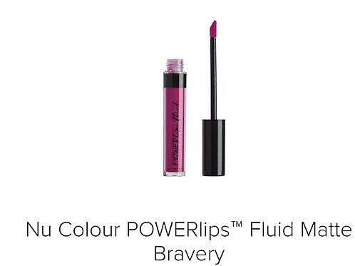 powerlips fluid matte bravery