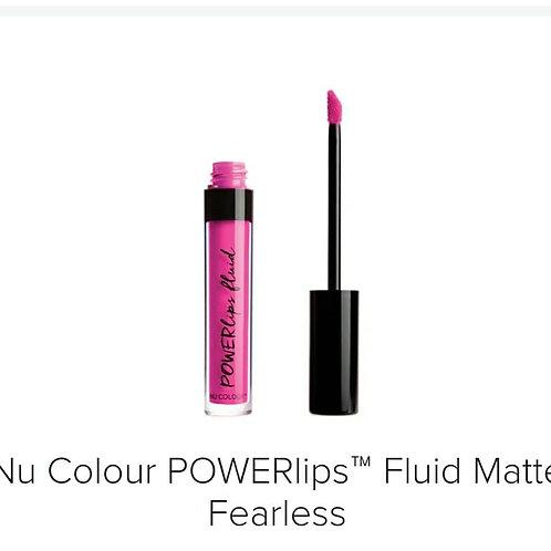 powerlips fluid matte fearless
