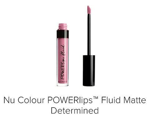powerlips fluid matte determined
