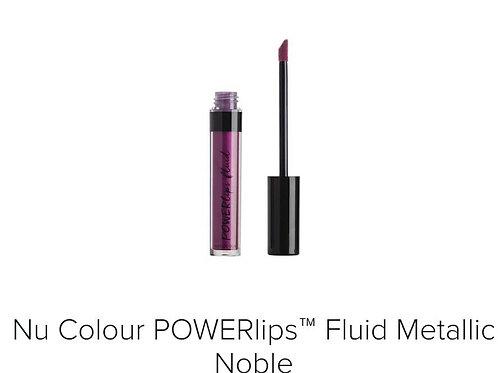 powerlips fluid metallic noble
