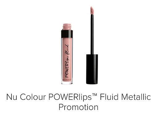 powerlips fluid metallic promotion