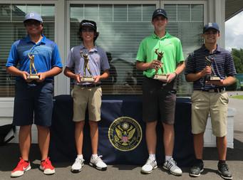 Tynan Jones, Caleb Decker Win 2019 SDGA District Junior Match Play Titles