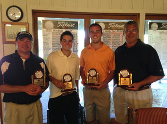 Dunnigans, Schaffners Win Father Son Championship