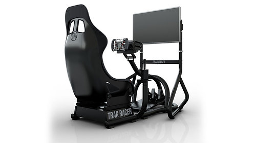 Trak Racer Single Monitor Floor Stand – Holds up to 80″