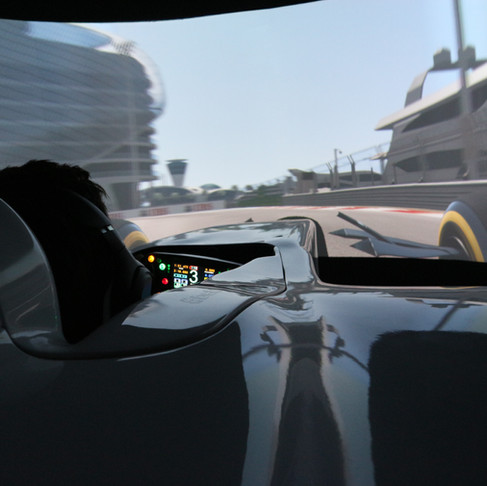 Hotlaps around Yas Marina, Abu Dhabi