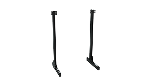 Aluminium Profile Legs for Floor Monitor Stand for TR8020 Monitor Stand – Black