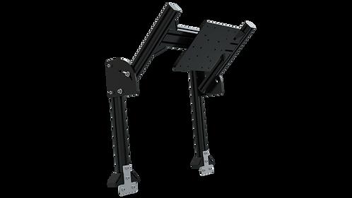 TR8020 Black Aluminium Quad Monitor Stand Add-On with VESA Mount