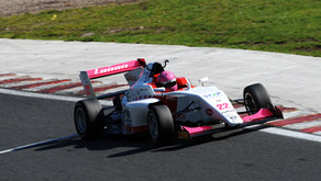 Piers Prior scores lights-to-flag race two win on British F3 debut