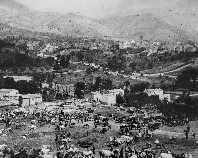Bussi sul Tirino, 1909