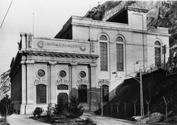 Galleto's idroelectric centre, 1929