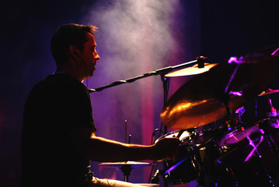 Drummer during Concert