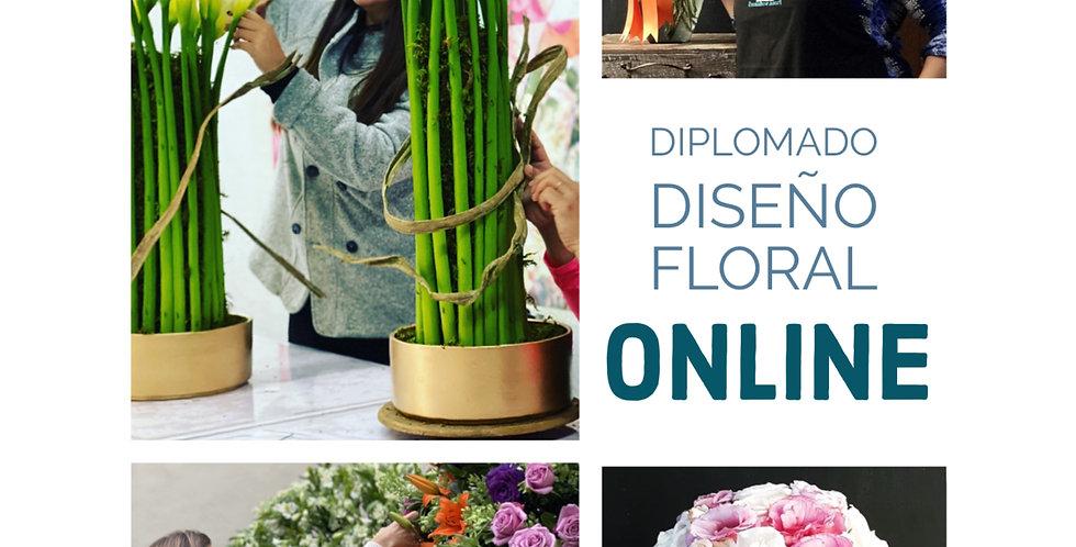 DIPLOMADO EN DISEÑO FLORAL ONLINE