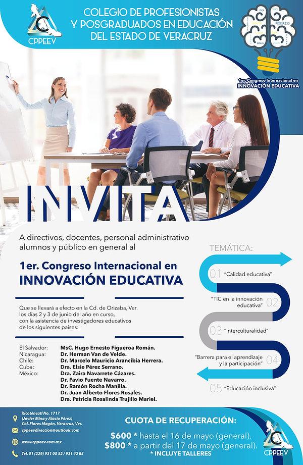 PRIMER CONEJO INTERNACIONAL EN INNOVACION EDUCATIVA