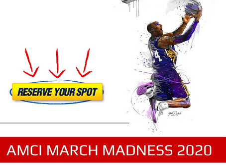 Want 42 Free CEUs? AMCI March Madness is Here!