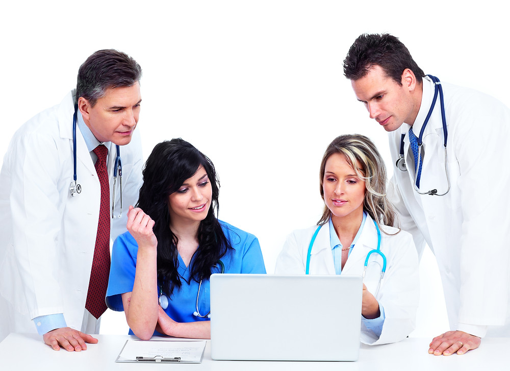 Medical coders work directly with clinicians