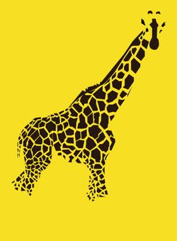 Minimalistic Giraffe