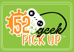 52 Geek Pick Up Card Back and Logo