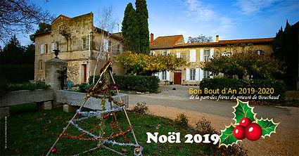 le prieuré de Bouchaud vous accueille pour Noel 2019