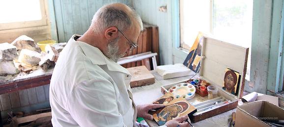 Plusieurs de nos moines sont de véritables artistes