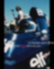 François CEVERT Tyrrell GP de France 1973 - photo Michel HUGUES