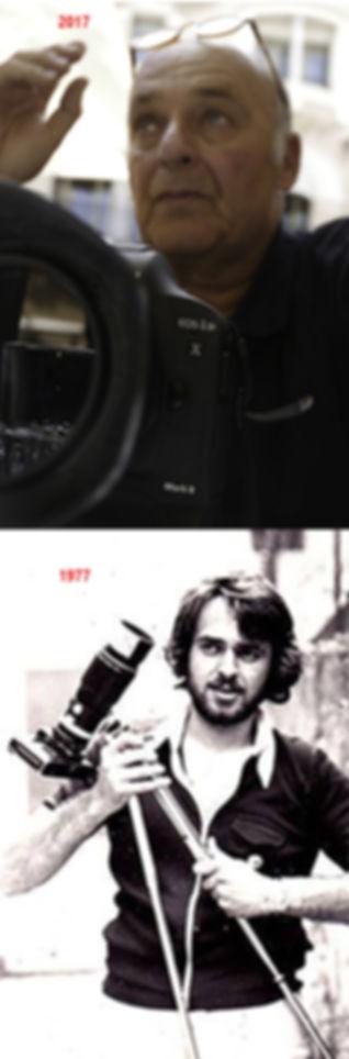 45 années séparent déjà ces 2 photos