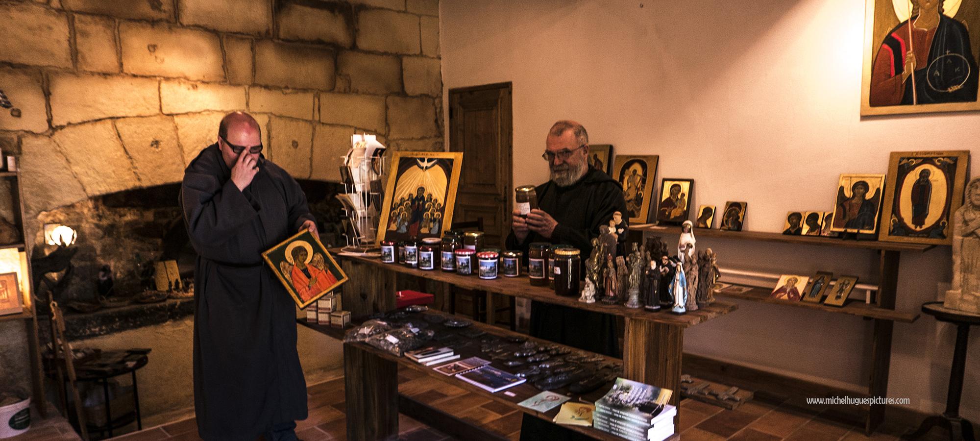 visitez la boutique des moines