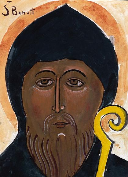 saint Benoit copyright frère Antoine, prieuré de bouchaud
