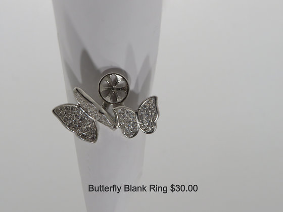 Butterfly blank ring