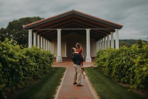 Man and women dance at Villa Bellezza.