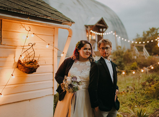 Krista and Dean | Madison Wisconsin Fall Wedding at Emily's Ten Oaks Ranch