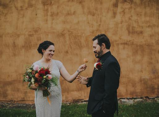 Industrial Downtown Stevens Point Wedding   Wisconsin Wedding Photographer