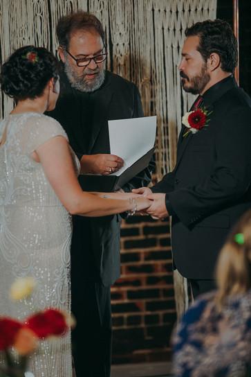 Industrial wedding in historic Stevens Pointe, WI