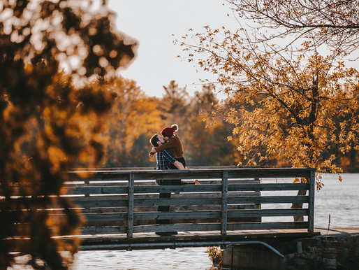 Jessica & Adam|| Downtown Stevens Point | Stevens Point Engagement Photographer