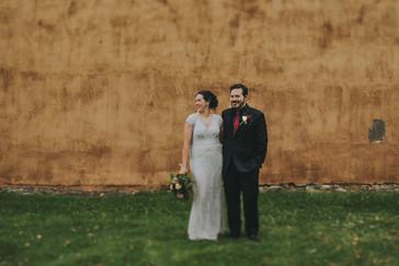 Bride details in Pfiffner building industrial wedding