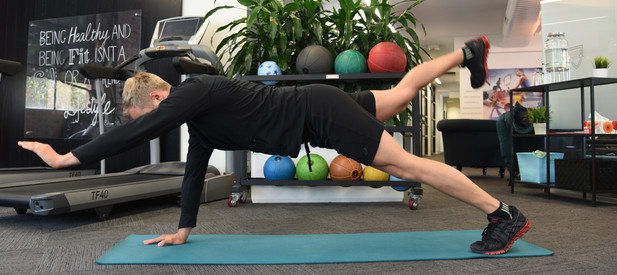 Improved Balance and Core Strength