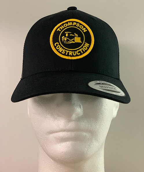 Truck Hat with Retro Patch