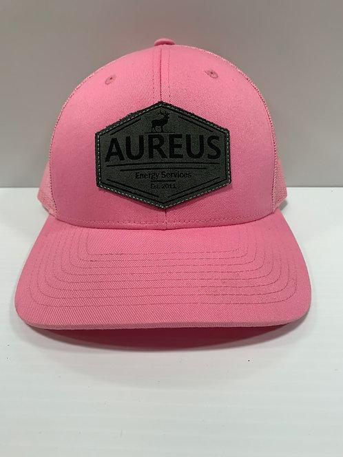 Pink Trucker With Aureus ELK Patch