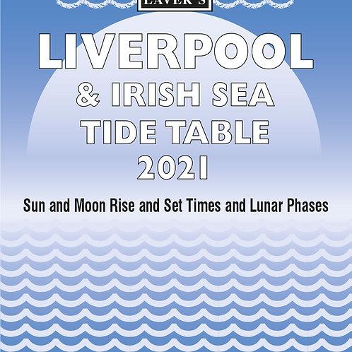 LIVERPOOL & IRISH SEA TIDE TABLE