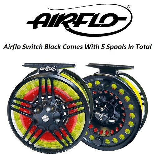AIRFLO SWITCH BLACK CASSETTE REEL #7/9