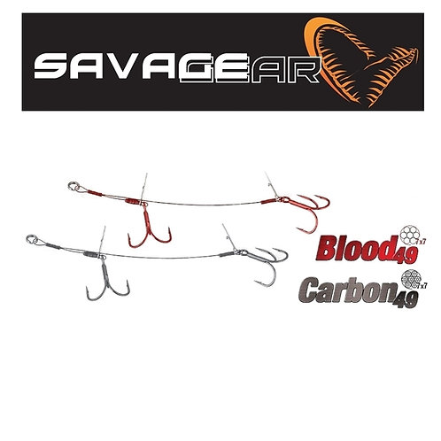 SAVAGE GEAR CARBON 49 DOUBLE STINGER
