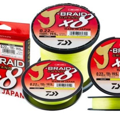 DAIWA J BRAID X 8 GRAND