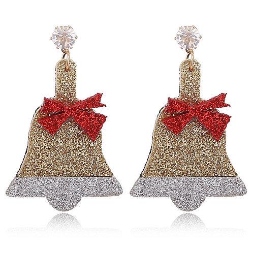 Christmas Acrylic & Metal Earrings