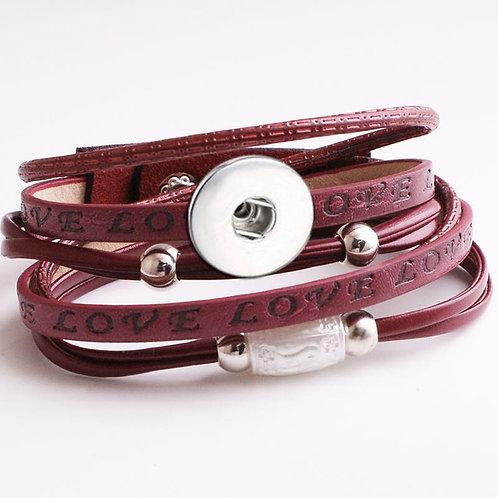 KJ Button Bracelet