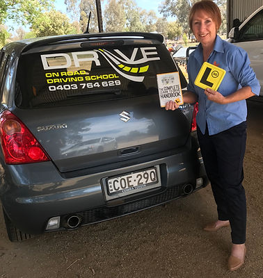 Beth Drive on Road Driving School instructor