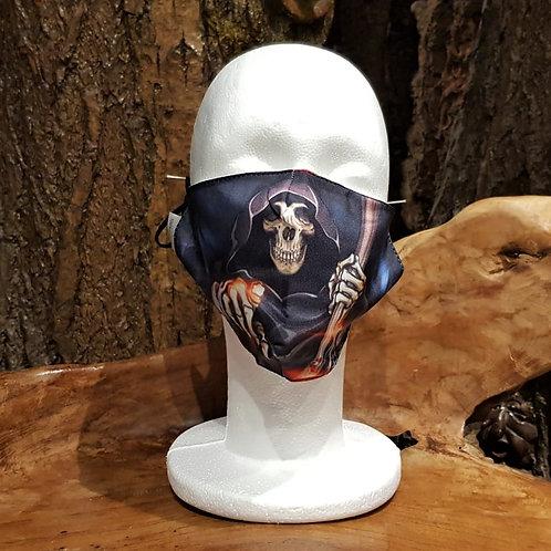 face mask non medical gezichtsmasker medisch horror grim reaper magere hein skelet